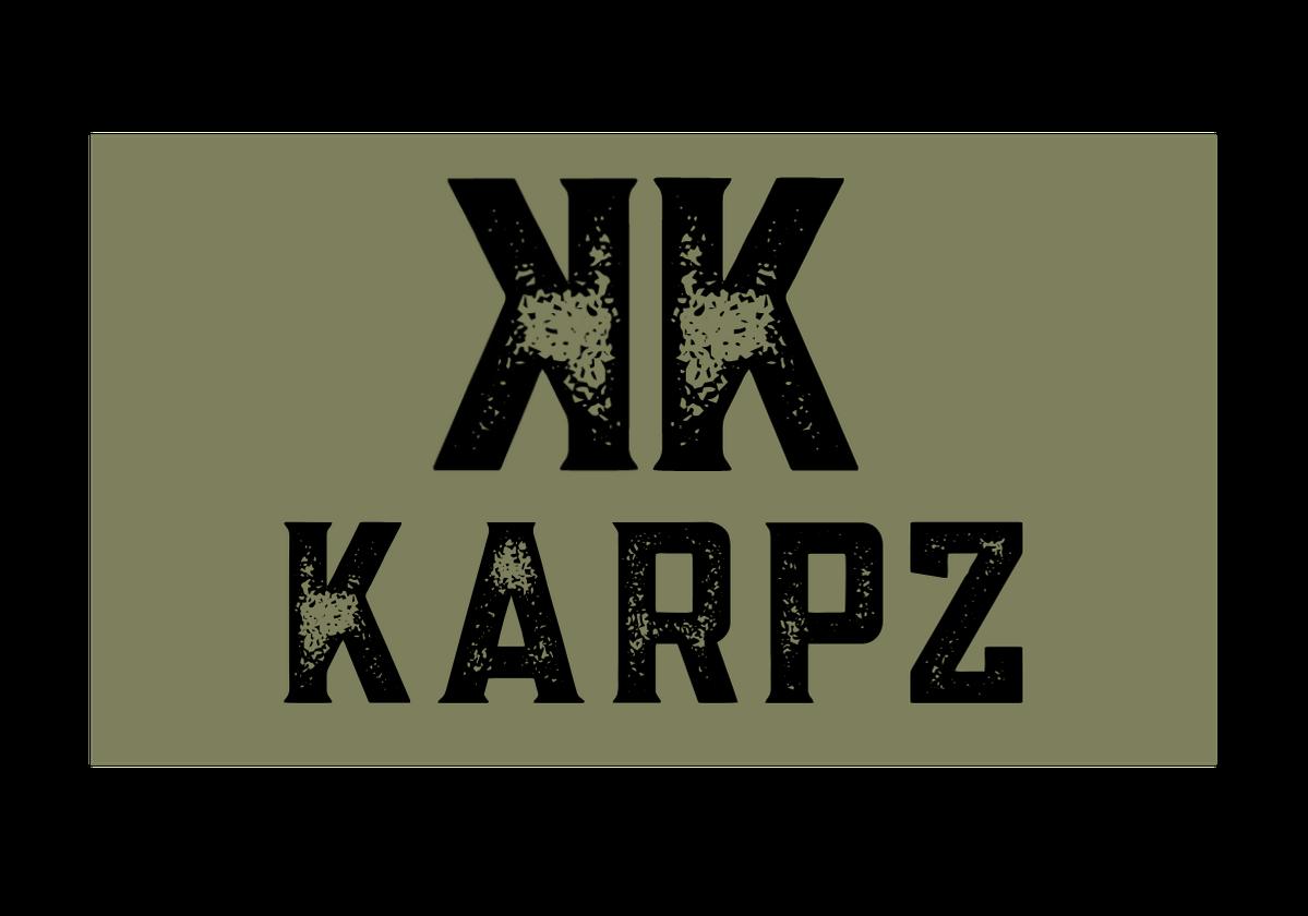 KARPZ BLACK ON GREEN